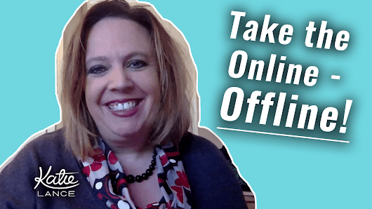 The #GetSocialSmart Show Episode 006: Bring the Online - Offline! | Katie Lance