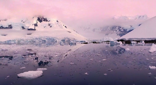 Gorgeous Aerial Drone Footage of Antarctica