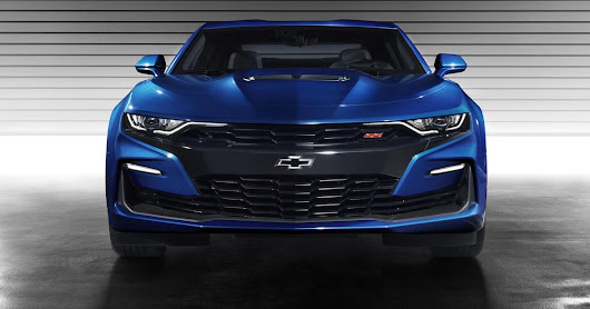 Say Hello To The New Face Of The 2019 Chevrolet Camaro