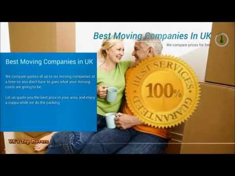 Best Moving Companies UK