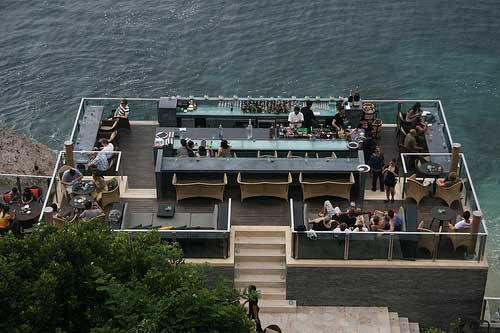 Bar on rocks @ Ayana, Bali