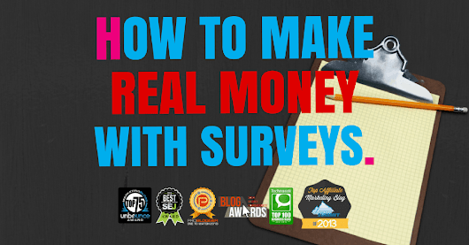 How To Make Money With The Best Paid Survey Sites