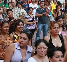 Inmigrantes en España.