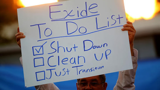 EXIDE VERNON BREAKING NEWS MEDIA ROUNDUP: Finally, some action from California Gov. Jerry Brown on Exide's widespread contamination of 10,000 homes, and toxic exposure of 100,000 people