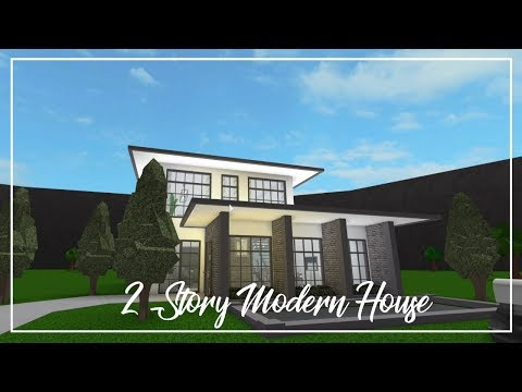 Roblox Welcome To Bloxburg Sophisticated Modern Home - roblox bloxburg modern family home 99k