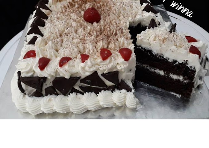 Resep 83.Black forest, Enak