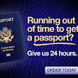 Can I renew an expired passport by mail?