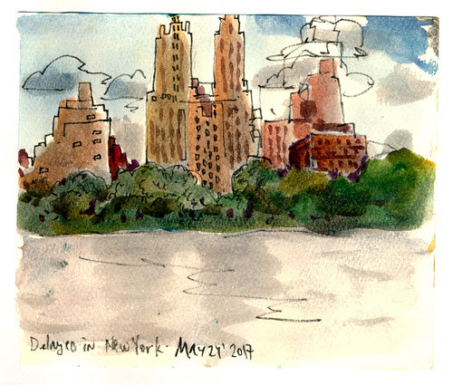 Sketchbook #105: Traveling - New York
