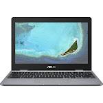 ASUS 12 C223NA-DH02 11.6″ Chromebook - Celeron N3350 1.1 GHz - 4 GB RAM - 32 GB SSD - Gray