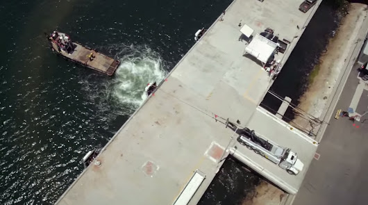 Towing Truck vs Tug Boat, the ultimate Towing Battle