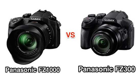 Panasonic FZ300 and FZ1000 Specifications Comparison
