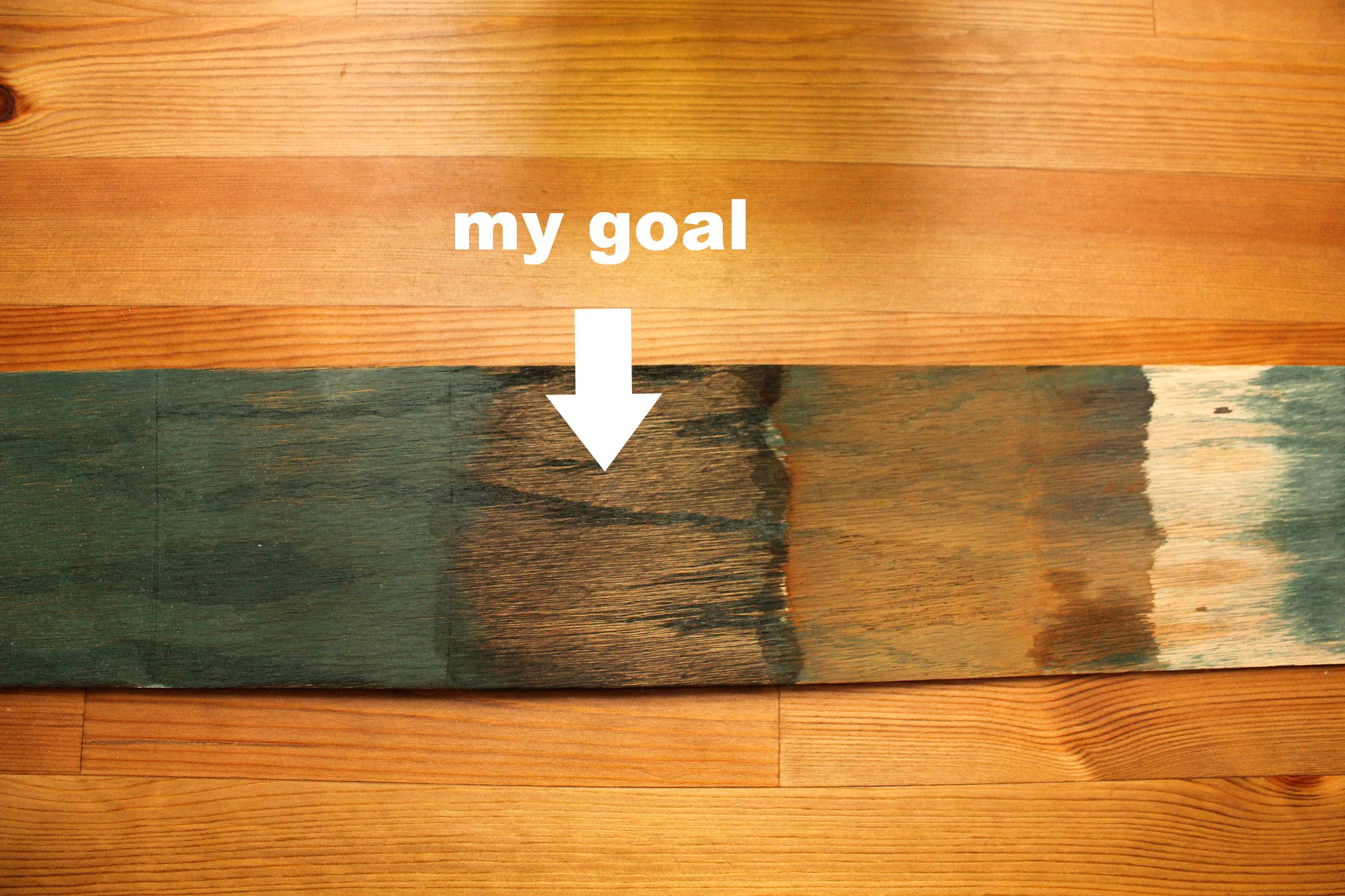 stain test board
