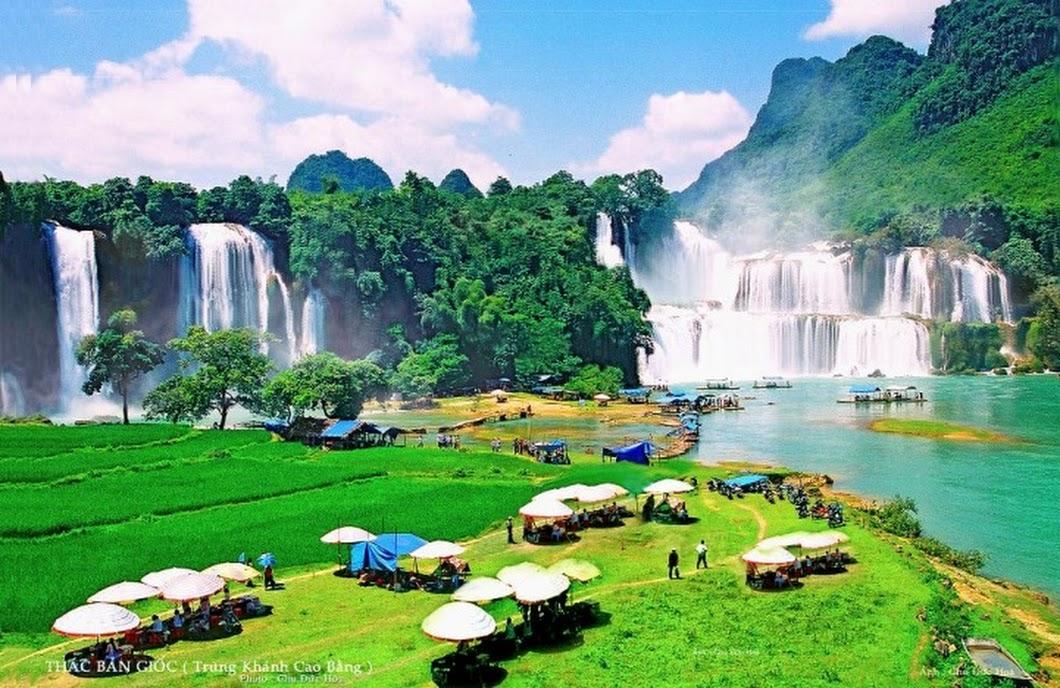 Exploring Ban Gioc Waterfall in Cao Bang province