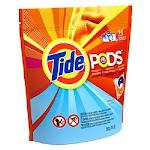 Tide 50955 Pod Laundry Detergent Pac, Ocean Mist Scent, 16-count