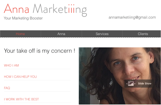 Anna Marketiiing, your marketing booster