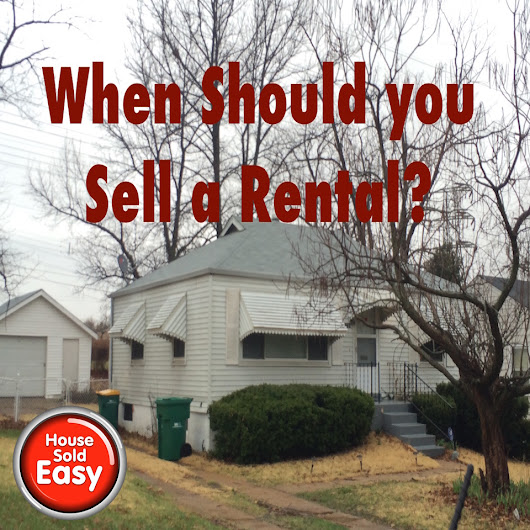 When Should you Sell a Rental Property
