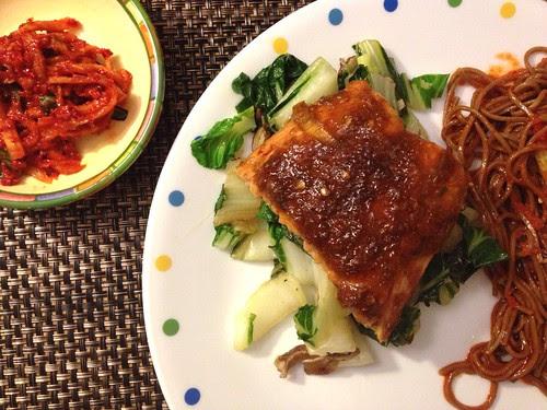 bulgogi-style salmon