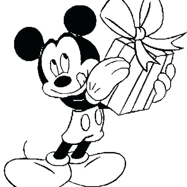 Happy Birthday Minnie Mouse Coloring Pages at GetColorings ...