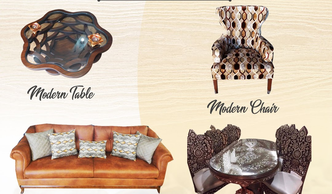 Upgrade Your Home with Stylish Furniture made with Arabic Design