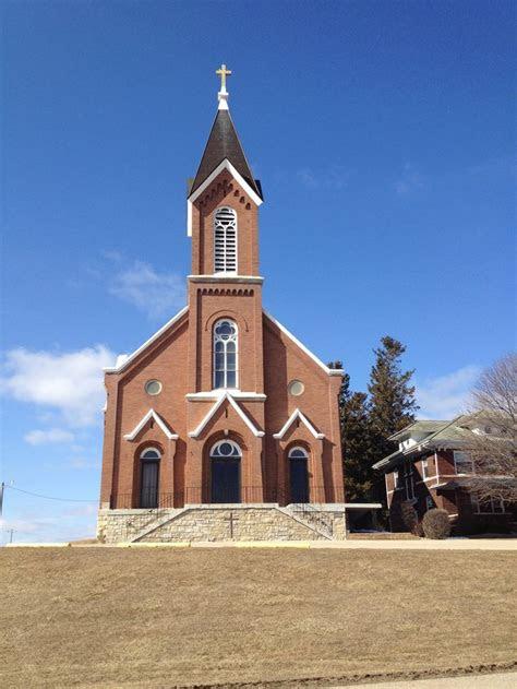 sacred heart catholic church fillmore ia country