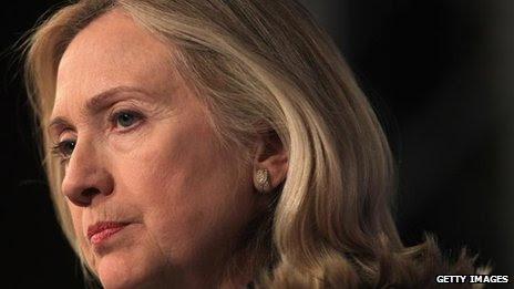 Hillary Clinton (file photo - 5 Dec)