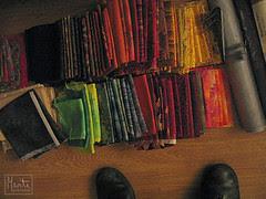 feet of stash :: stoffsamlingsføtter