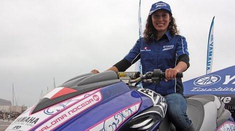 Paloma Noceda subcampeona mundial de motonáutica
