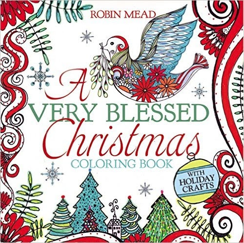A Very Blessed Christmas Coloring Book – Review And Giveaway