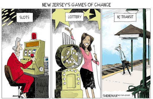 Taking your chances with NJ Transit | Sheneman cartoon | NJ.com