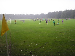 Football at Vernons lower fields