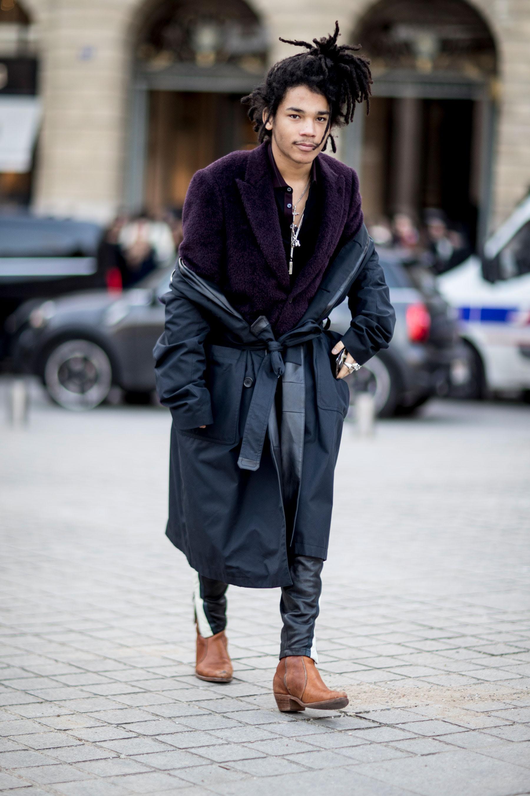 street style at paris mens fashion week fall winter 2017