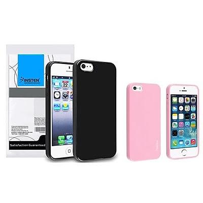 Insten 833400 2-Piece iPhone Case Bundle For Apple iPhone 5/5S