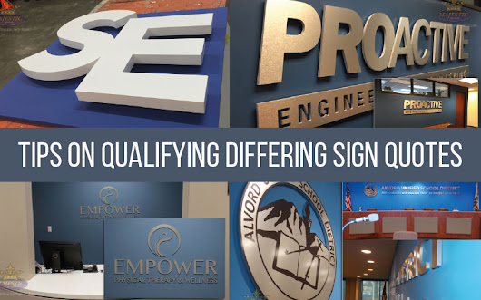 Comparing Sign Companies - Majestic Sign Studio