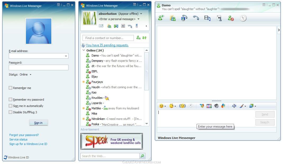 Windows Live Messenger 2009 Free Download