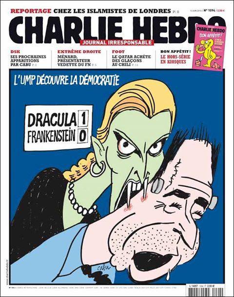 La une de Charlie Hebdo du 5 juin 2013 n°1094