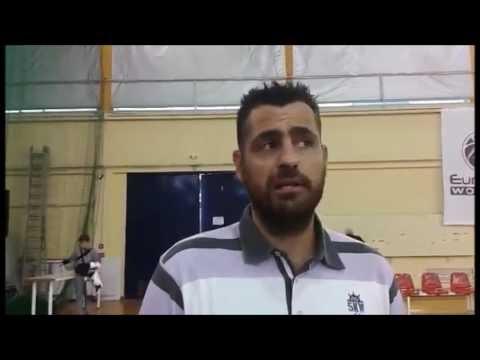 Τι δήλωσε ο Νίκος Δουβίτσας μετά το τέλος του αγώνα Ολυμπιακός-Νίκη Λευκάδας για την Α1 γυναικών