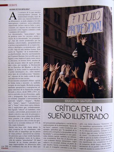 """Revista """"El Periodista"""" Edición 211, Enero 2012 by Alejandro Bonilla"""