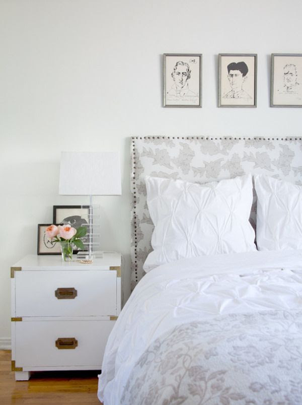 nailhead bed and campaign chest