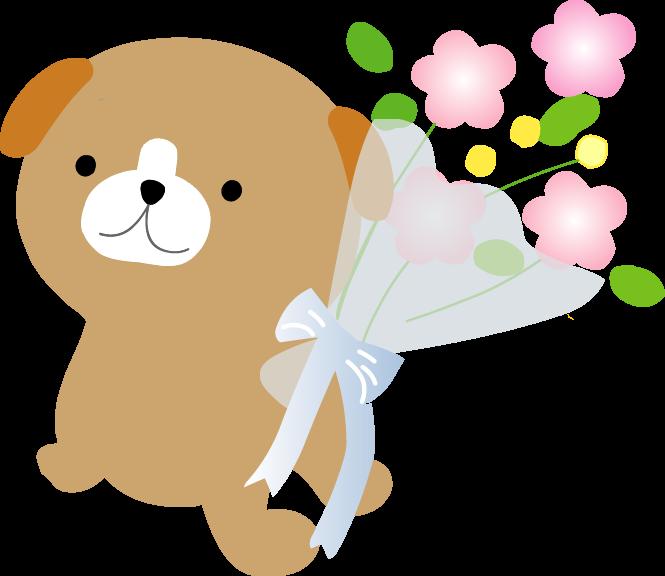 花束イラスト お祝いのイラスト無料素材