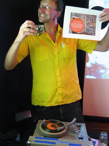 artist & dj Robert Zverina