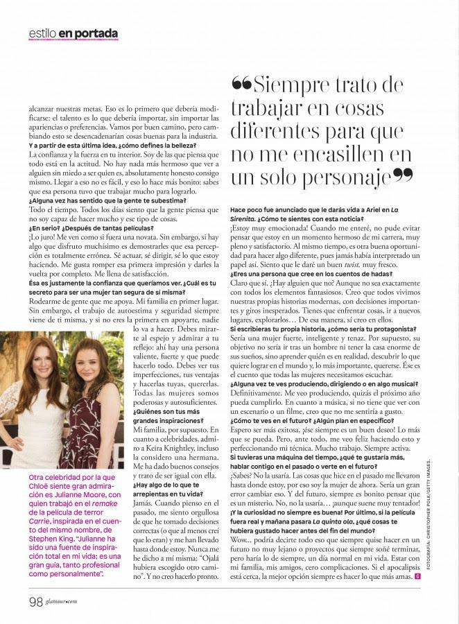 Chloe Moretz – Glamour Mexico 2016 -12