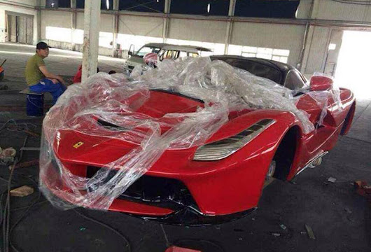 First LaFerrari Replicas Already In Production: Video