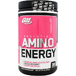 Optimum Nutrition Essential Amin O Energy Juicy Strawberry Burst 9 5 oz 270 g