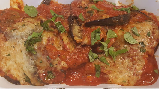 Low-Carb Eggplant Parmesan - Good To Go Organic and Local Take Out Food in Cherry Valley New York