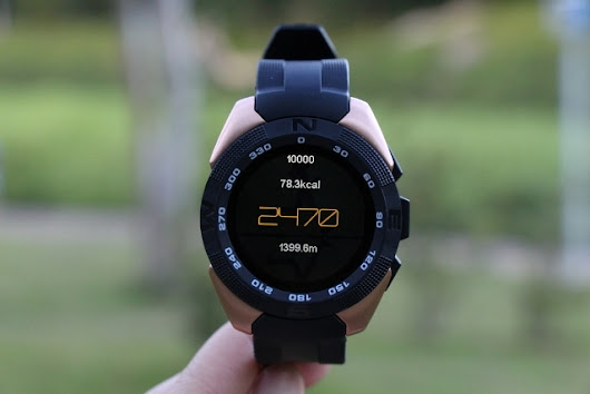 NO.1 G5 Sport Smartwatch with All Day Pedometer Feature powered by MediaTek MT2502 • GizmoGeek.xyz
