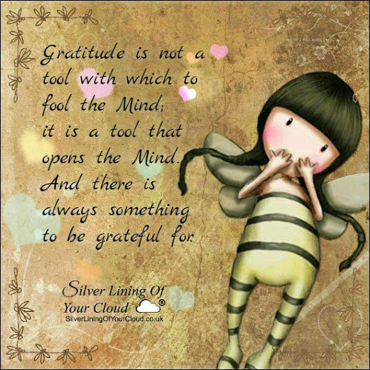 To be Grateful For
