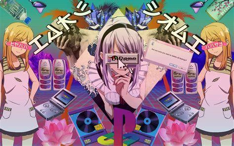 vapor anime aesthetic wallpapers top  vapor anime