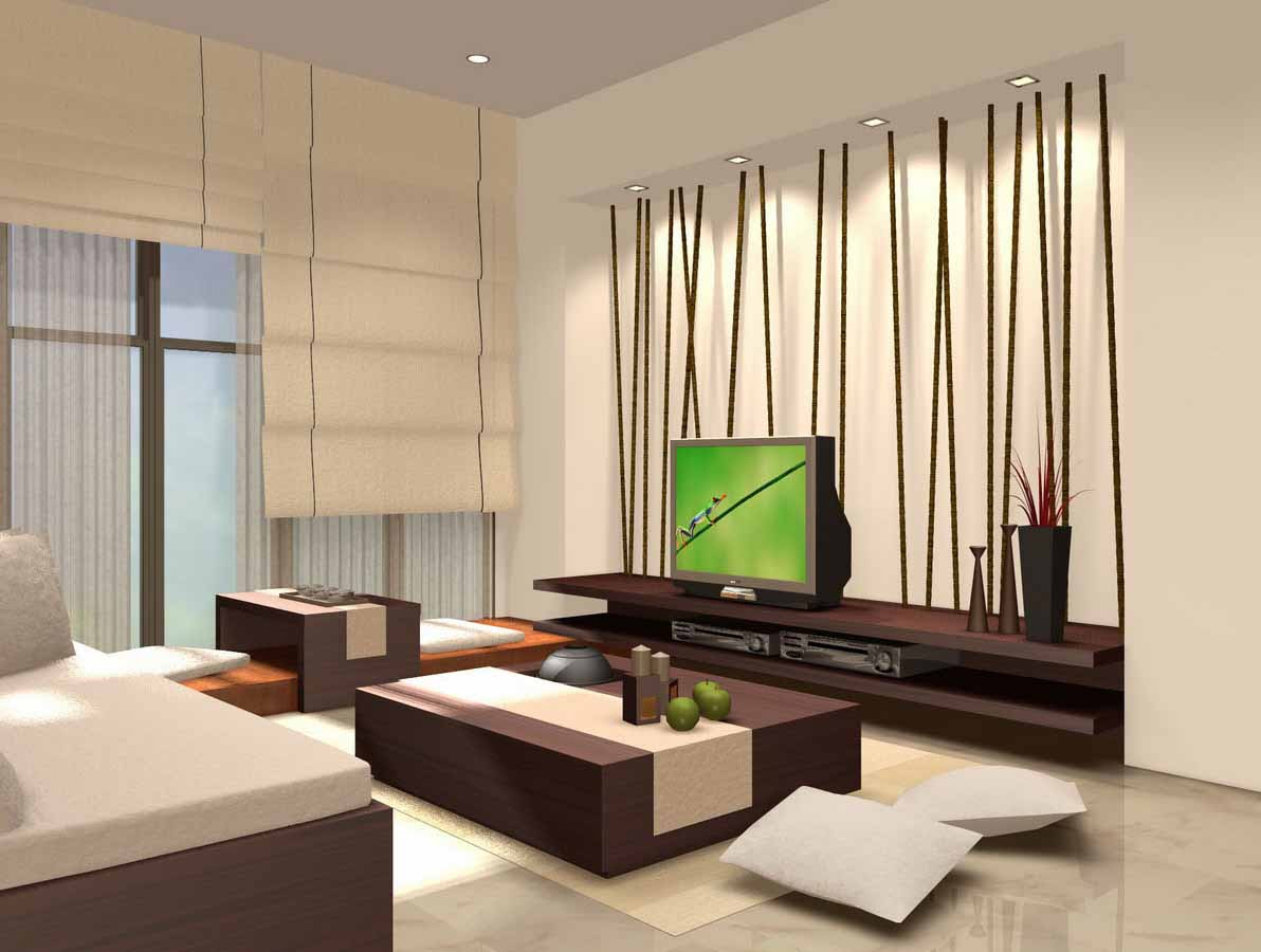 Desain Interior Ruang Tamu Dan Keluarga Gambar Desain Rumah Minimalis