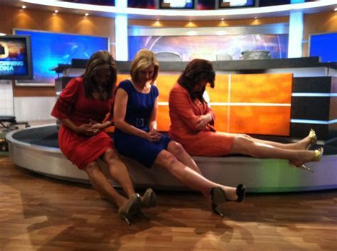 Gina, April and Kaley show off their 'Bradying'   Fun on