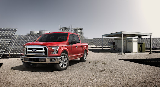 New Ford F-150 named 2015 Truck of the Year